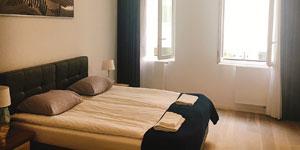 快眠のための寝室イメージ