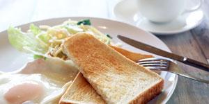 快眠につながる朝食のイメージ