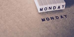 憂鬱な月曜日イメージ