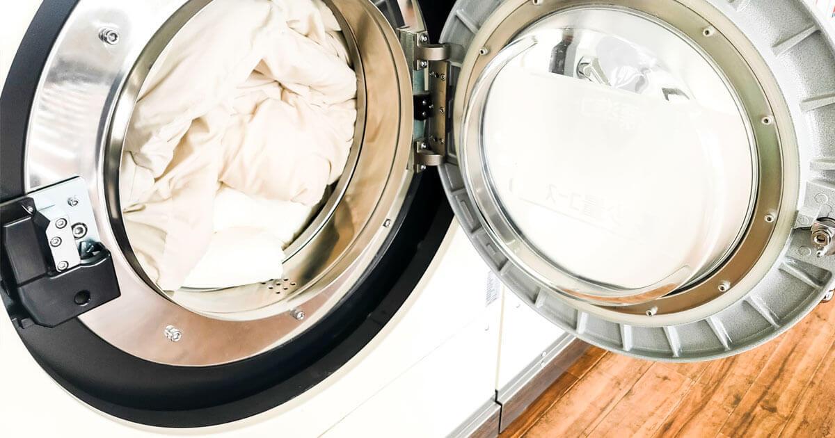 ダニ対策布団洗濯イメージ