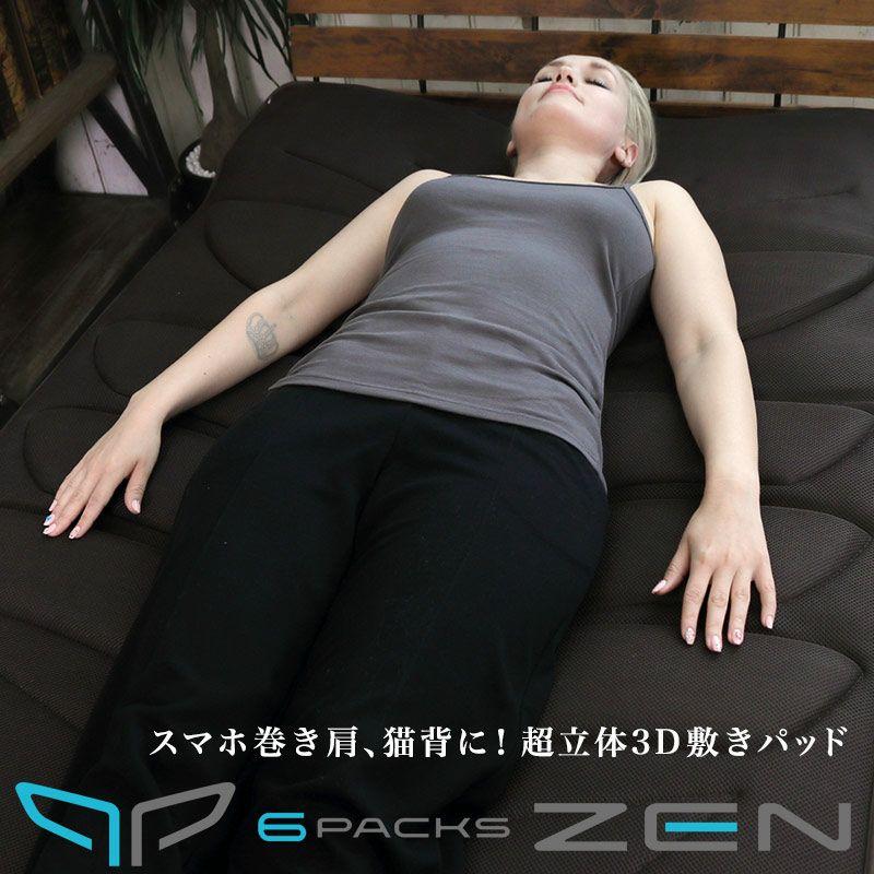 正しい姿勢を取り戻す 3D敷きパッド6パックスZEN